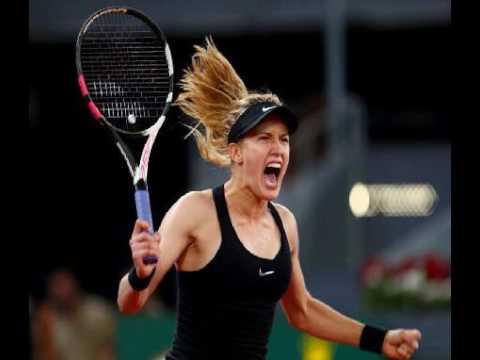 Bouchard Eliminates Sharapova At Madrid Open