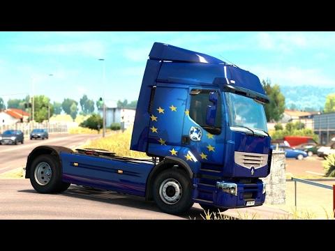ETS 2 - Vive la France DLC - Trailer Pick up from Nice |