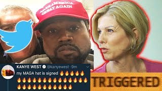 Mom REACTS to Kanye West's Tweets! (TRIGGERED)