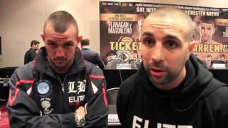 COMMONWEALTH CHAMPION LUKE BLACKLEDGE - ' I RESPECT LEE MARKHAM BUT HE WONT BE TAKING MY BELT'