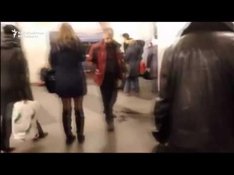 Chaos Inside St. Petersburg Metro Following Blast