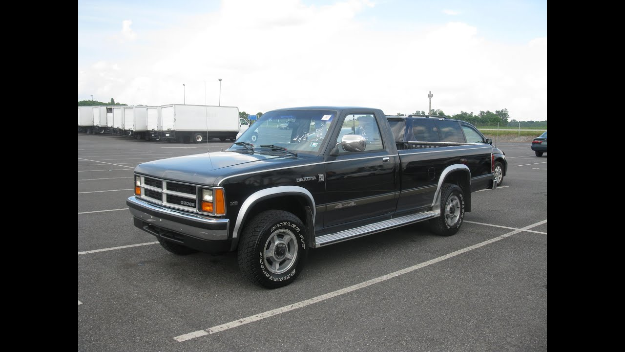Maxresdefault on 1988 Dodge Dakota Le 4x4