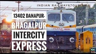 #wdp4d #jmp High speed of WDP-4D|13402 Danapur - Bhagalpur Inter City Express crossing Rajendranagar