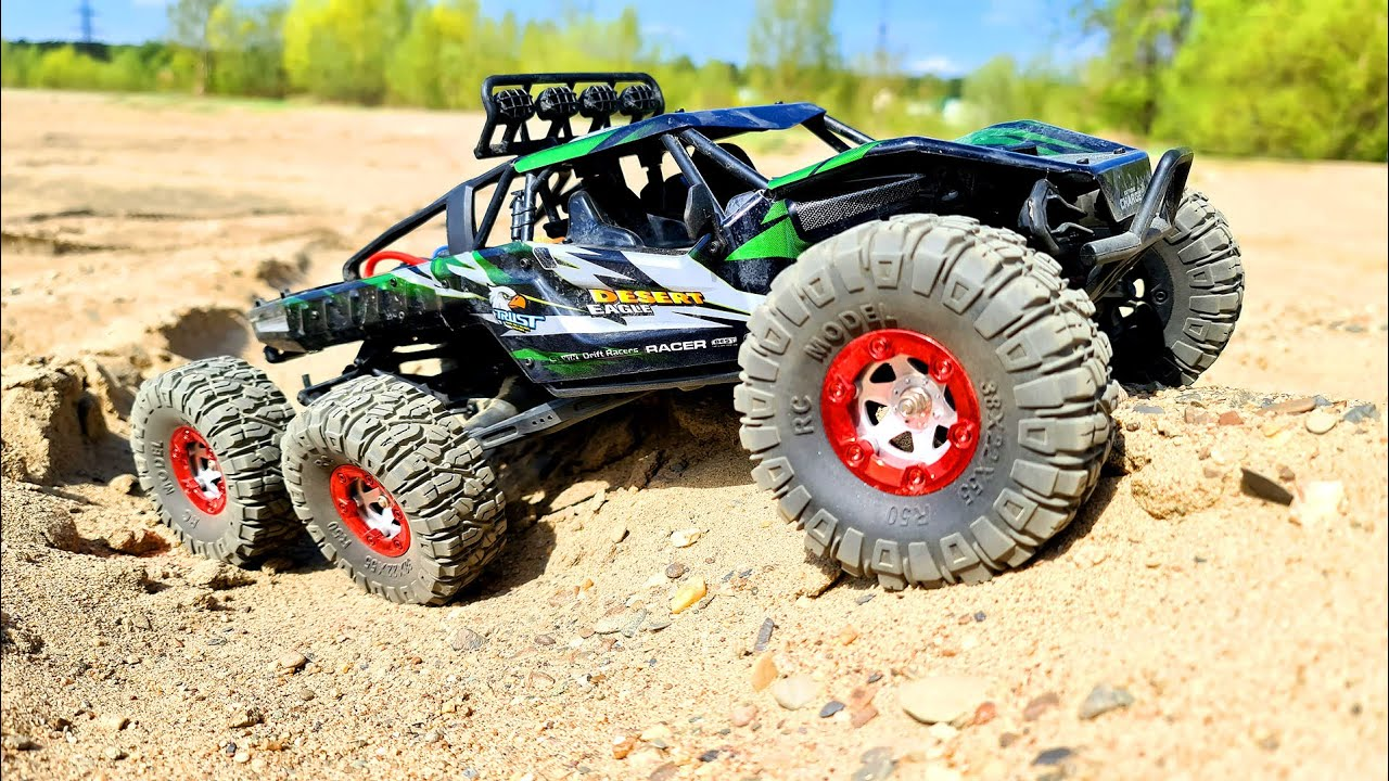 RC Truck 6x6 Sand Storm Racing — FEIYUE FY06 6WD — Wilimovich
