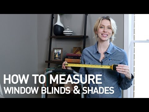 How to Measure for Window Blinds & Shades (Easy) | Blinds.com