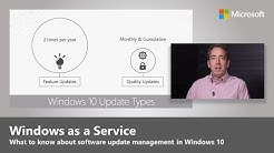 Windows as a service – What to know about software update management in Windows 10