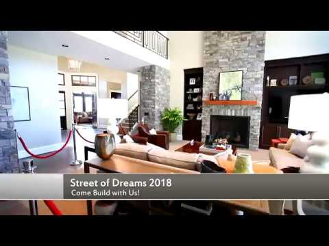 Street of dreams 2018 preview come build with us youtube for Street of dreams