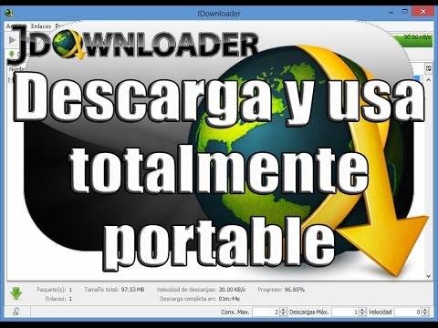 Descargar jdownloader portable (MEGA)