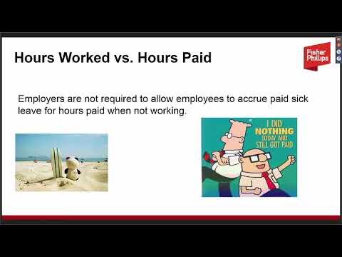 Washington's New Paid Sick Leave Law - Fisher Phillips Webinar