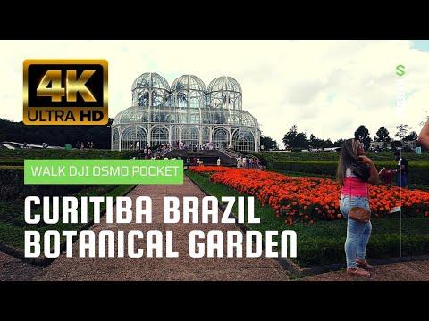Curitiba Brazil Botanical Garden (Jardim Botanico) 4K