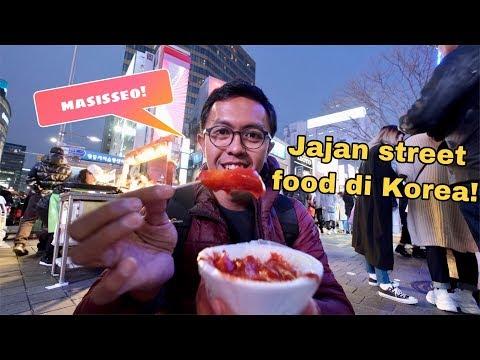 KULINER KOREA : STREET FOOD HALAL DI  ITAEWON & MYEONGDONG