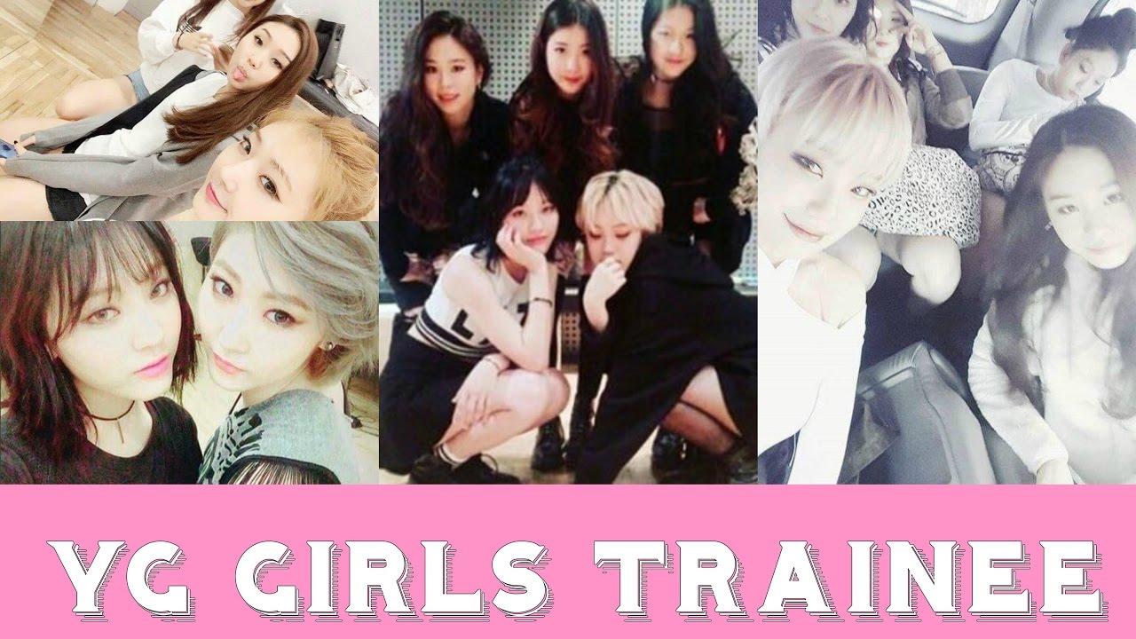 2ne1 Falling In Love Wallpaper Yg Girls Trainees Youtube