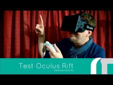 [TEST] Oculus Rift VR Development Kit