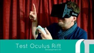 Oculus Rift VR Development Kit - French Test