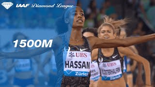 Sifan Hassan dominates the 1500m final in Zurich- IAAF Diamond League 2019