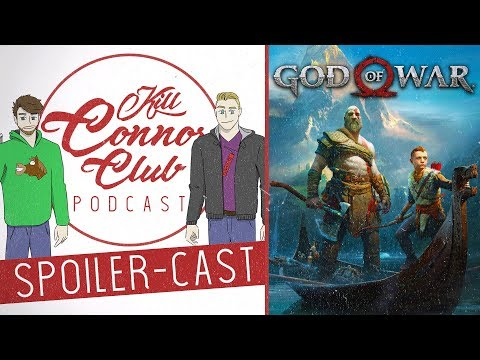 Why We Think God Of War Is The BEST Game Ever | SPOILER-CAST | Kill Connor Club Podcast - Our Review