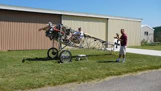 Rotec Radial and the Strutter 1st Flight