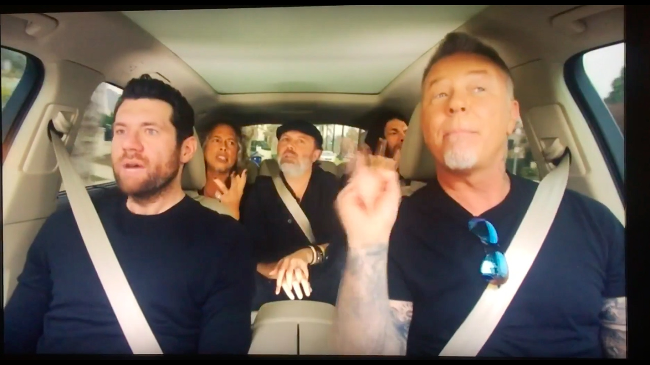 Carpool Karaoke Metallica : metallica on carpool karaoke commercial youtube ~ Hamham.info Haus und Dekorationen
