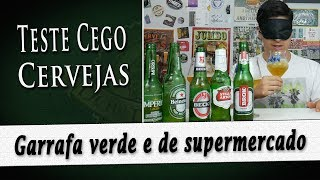 Teste cego de Cervejas em garrafa verde | DB#229