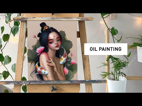5-secrets-to-a-good-work-ethic-🎨-oil-painting-time-lapse