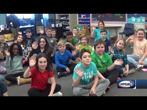 School visit: Allenstown Elementary School