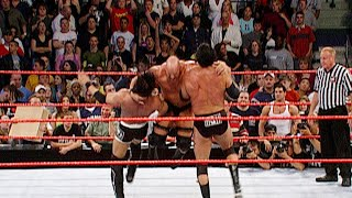 """The nWo vs. """"Stone Cold"""" Steve Austin, Ric Flair and Bradshaw : Raw, May 6, 2002"""