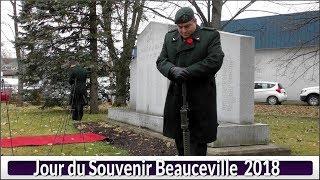 Jour du Souvenir Beauceville  2018(Hier@Aujourd`Hui)
