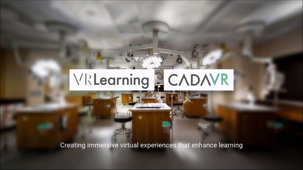 CadaVR - Virtual Reality Anatomy and Physiology - YouTube