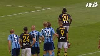 Sammandrag AIK-Djurgården 1-1