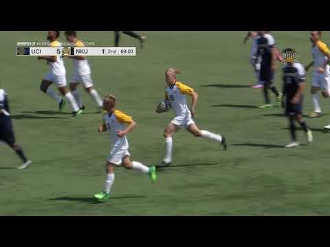 NKU Men's Soccer: Highlights vs  UC Irvine 8/28/17