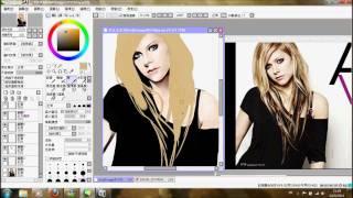 Speed Painting - Avril Lavigne