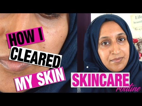 MY EVERY DAY SKINCARE ROUTINE | HOW I CLEARED MY SKIN OF ACNE SCARS | Shamsa