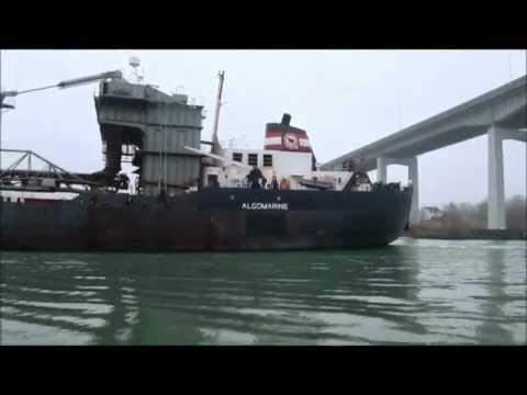 Ship ALGOMARINE at Homer Bridge