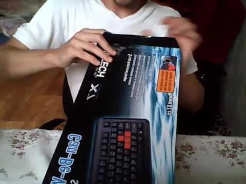Клавиатура проводная A4Tech X7-G300 USB (4711421824446)