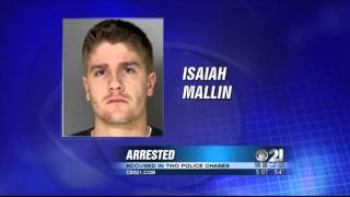 Man arrested for chases in 2 counties