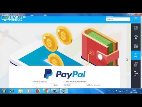 GANAR $ EN VENEZUELA y cambialos por PayPal o Bitcoin con DESKTOP MINING ➡  MINIMO PAGO $1 00 DOLLAR