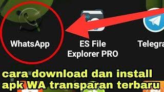 Gambar cover New!!! Update WhatsApp Transparan