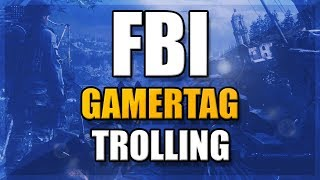 FBI Gamertag Trolling (Cod Ghosts Modded Gamertag)