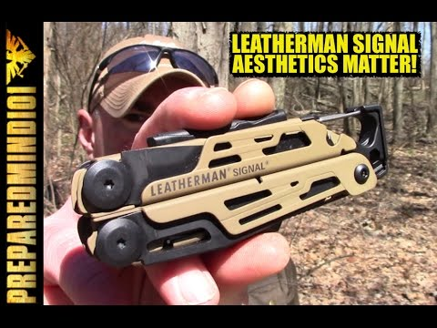 Leatherman Signal: Big Aesthetic Improvement  - Preparedmind101