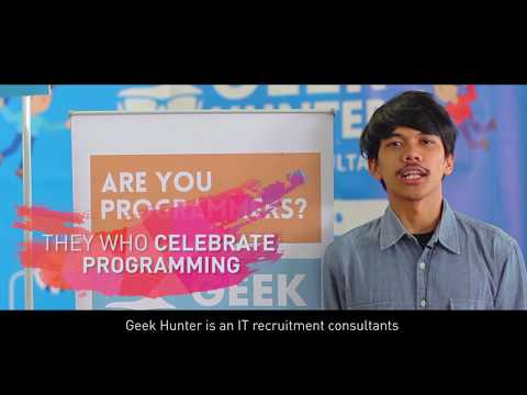Geek Hunter on Indonesia Developer Summit 2017
