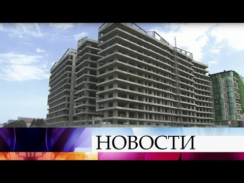 В Сочи приступили к сносу огромного жилого комплекса, который был возведен незаконно.