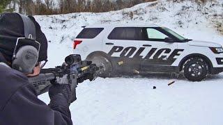 Police Interceptor Ballistics Testing