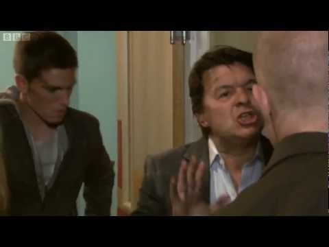 Max Branning roughs up Joey Branning (2012)