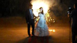 Свадебная пиротехника Сердце в Барнауле тел. 8-903-947-88-73