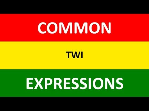 Twi Greetings | Good Morning, Good Afternoon, Good Evening in Twi | Twi Phrases | Video Lesson 3