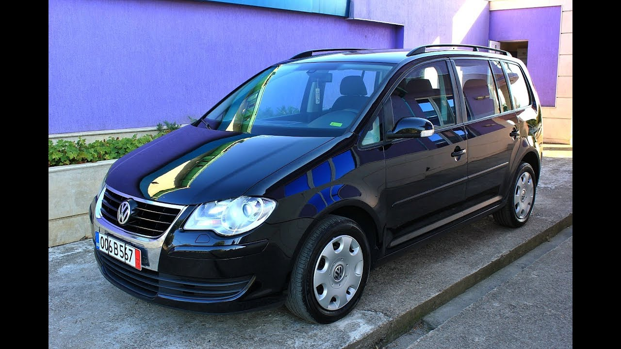 vw touran 1 4tsi 140hp 2009 7 places youtube. Black Bedroom Furniture Sets. Home Design Ideas