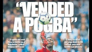 Barcelona convinced Paul Pogba will not leave Manchester United this