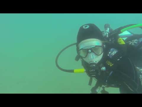 Dive #1 with Brittany at Athens Lake Scuba Park