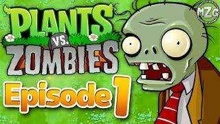 Video Plants vs. Zombies Gameplay Walkthrough - Episode 1 - World 1! Zombies On My Lawn!? (PC) download MP3, 3GP, MP4, WEBM, AVI, FLV Juli 2018