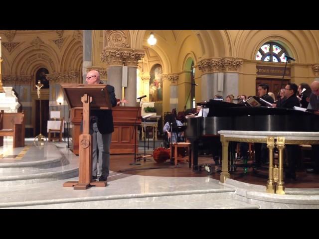 Laudato Si by Paul Melley & Fr. Robert VerEecke SJ- Ladd Boris, soloist